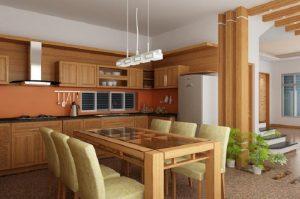 Cách thiết kế nội thất phòng bếp giúp không gian tưởng chừng như rộng thêm cả 100m